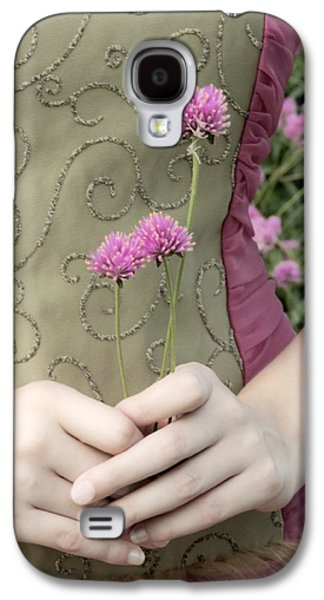Innocence Mixed Media Galaxy S4 Cases - Where Have All The Flowers Gone Galaxy S4 Case by Angelina Vick