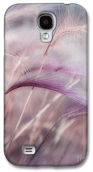 Botanical Galaxy S4 Cases - Whispers In The Wind Galaxy S4 Case by Priska Wettstein