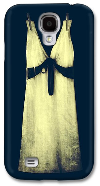 Dress Photographs Galaxy S4 Cases - White Dress Galaxy S4 Case by Joana Kruse