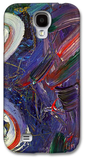 Painter Mixed Media Galaxy S4 Cases - Who sees ... Galaxy S4 Case by Gwyn Newcombe