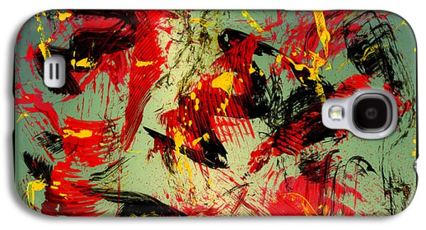Swiss Mixed Media Galaxy S4 Cases - Wild Times Galaxy S4 Case by Manuel Sueess