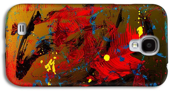 Swiss Mixed Media Galaxy S4 Cases - Wild Waves Galaxy S4 Case by Manuel Sueess