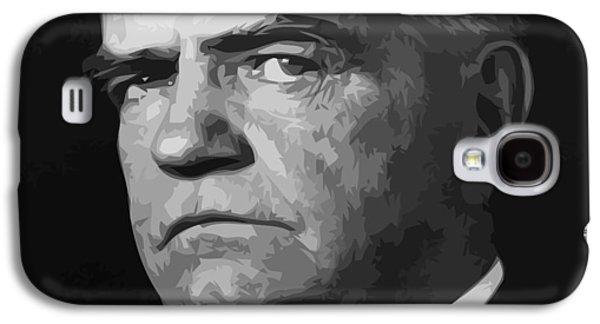 Bulls Digital Art Galaxy S4 Cases - William Bull Halsey Galaxy S4 Case by War Is Hell Store
