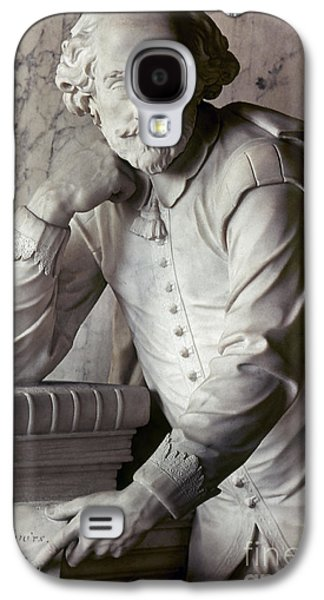 Statue Portrait Galaxy S4 Cases - William Shakespeare Galaxy S4 Case by Granger