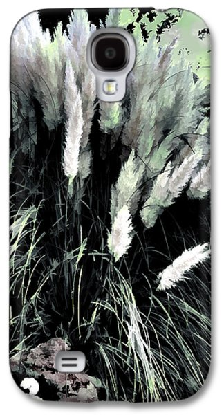 Garden Scene Galaxy S4 Cases - Willows Galaxy S4 Case by Tom Prendergast