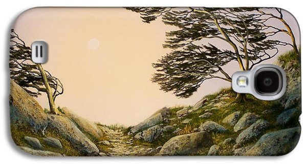 Windblown Paintings Galaxy S4 Cases - Windblown Warriors Galaxy S4 Case by Frank Wilson
