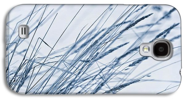 Snowy Digital Art Galaxy S4 Cases - Winter Breeze Galaxy S4 Case by Priska Wettstein