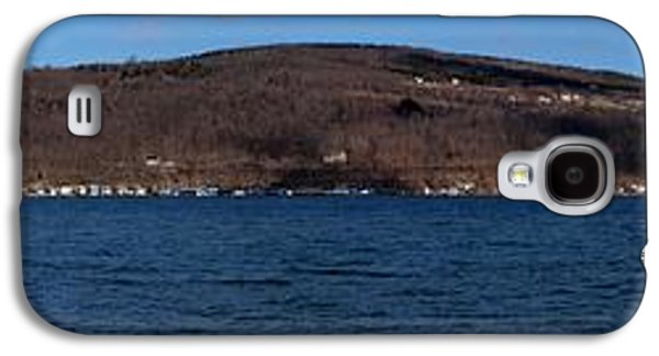 Keuka Galaxy S4 Cases - Winter By the Lake Galaxy S4 Case by Joshua House