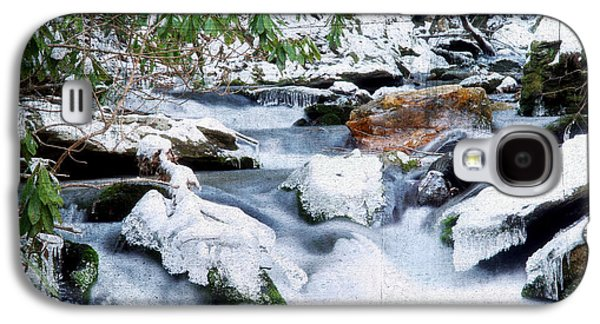 White River Scene Photographs Galaxy S4 Cases - WInter Galaxy S4 Case by Darren Fisher