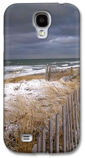 Cape Cod Galaxy S4 Cases - Winter on Cape Cod Galaxy S4 Case by Charles Harden
