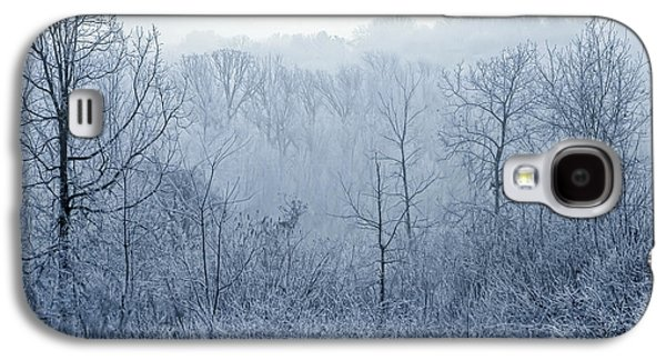 Christmas Greeting Galaxy S4 Cases - Winter Wonderland Galaxy S4 Case by Scott Norris