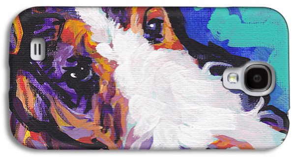 Puppies Galaxy S4 Cases - Wired Galaxy S4 Case by Lea