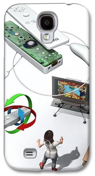 Component Photographs Galaxy S4 Cases - Wireless Home Video Game System Galaxy S4 Case by Jose Antonio PeÑas