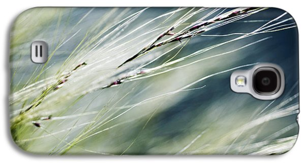 Weed Line Galaxy S4 Cases - Wispy Grass Galaxy S4 Case by Ray Laskowitz - Printscapes