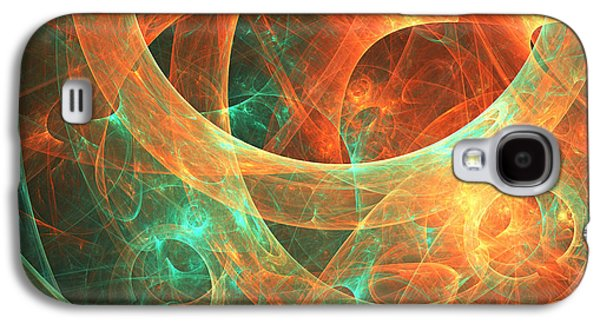 Abstract Digital Galaxy S4 Cases - Within Galaxy S4 Case by Lourry Legarde