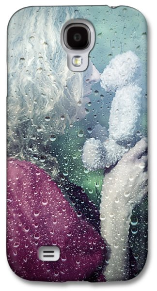 Woman Photographs Galaxy S4 Cases - Woman And Teddy Galaxy S4 Case by Joana Kruse