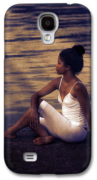 African-american Galaxy S4 Cases - Woman At A Lake Galaxy S4 Case by Joana Kruse