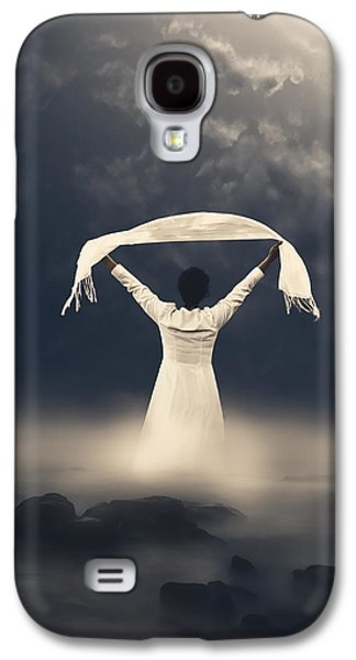 Shawl Galaxy S4 Cases - Woman In Water Galaxy S4 Case by Joana Kruse
