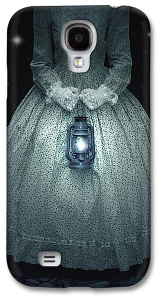 Female Photographs Galaxy S4 Cases - Woman With Lantern Galaxy S4 Case by Joana Kruse