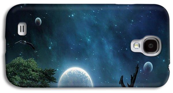 Foggy Ocean Galaxy S4 Cases - World Beyond Galaxy S4 Case by Lourry Legarde