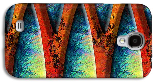 Abstract Digital Galaxy S4 Cases - World Wide Web Galaxy S4 Case by Paul Wear