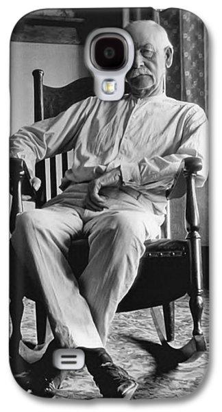 Hunters Galaxy S4 Cases - Wyatt Earp 1923 - Los Angeles Galaxy S4 Case by Daniel Hagerman