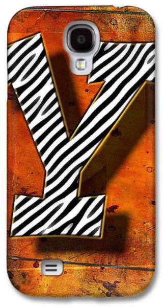 Music Pyrography Galaxy S4 Cases - Y Galaxy S4 Case by Mauro Celotti