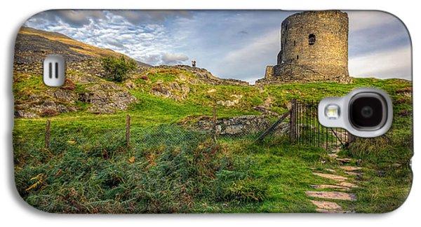 North Wales Digital Art Galaxy S4 Cases - Ye Olde Path  Galaxy S4 Case by Adrian Evans