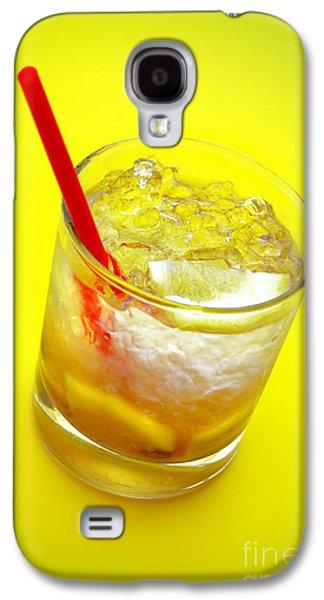 Alcohol Photographs Galaxy S4 Cases - Yellow Caipirinha Galaxy S4 Case by Carlos Caetano