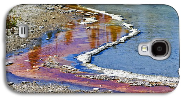 Alga Galaxy S4 Cases - Yellowstone Abstract I Galaxy S4 Case by Teresa Zieba