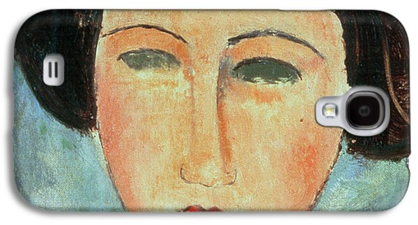 Young Brunette Galaxy S4 Case by Modigliani