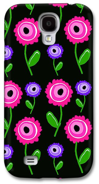 Louisa Galaxy S4 Cases - Young Florals  Galaxy S4 Case by Louisa Knight