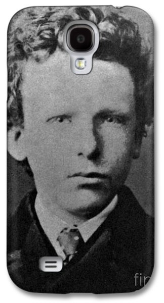 Painter Photo Photographs Galaxy S4 Cases - Young Vincent Van Gogh, Dutch Painter Galaxy S4 Case by Photo Researchers