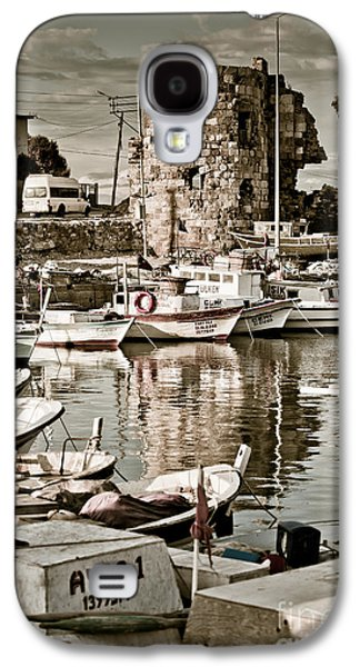 Recently Sold -  - Ancient Galaxy S4 Cases - Yumurtalik harbour Galaxy S4 Case by Gabriela Insuratelu