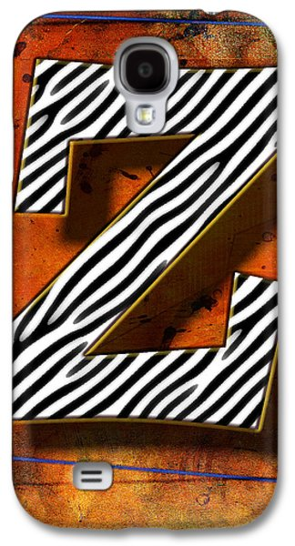 Music Pyrography Galaxy S4 Cases - Z Galaxy S4 Case by Mauro Celotti