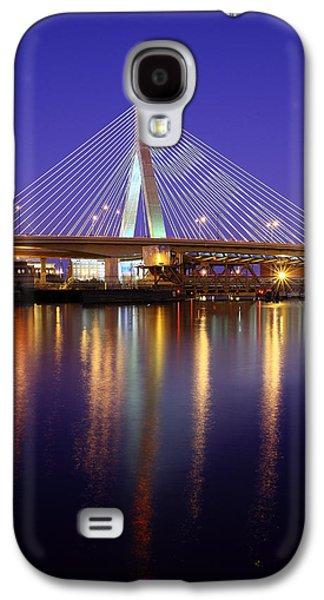 Charles River Galaxy S4 Cases - Zakim at Twilight II Galaxy S4 Case by Rick Berk