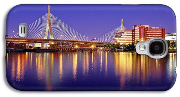 City. Boston Galaxy S4 Cases - Zakim Twilight Galaxy S4 Case by Rick Berk