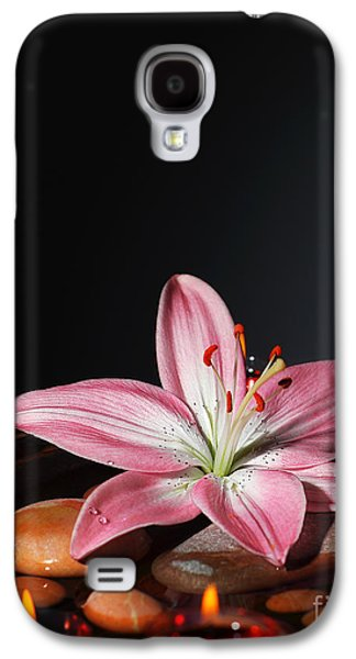 """indoor"" Still Life Photographs Galaxy S4 Cases - Zen atmosphere at spa salon Galaxy S4 Case by Anna Omelchenko"