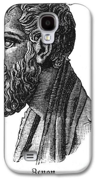 Statue Portrait Galaxy S4 Cases - ZENO OF ELEA (c495-c430 B.C.) Galaxy S4 Case by Granger
