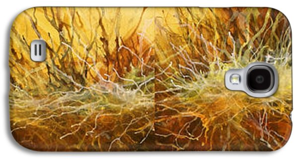 Abstract Movement Galaxy S4 Cases -   Reach  Galaxy S4 Case by Michael Lang