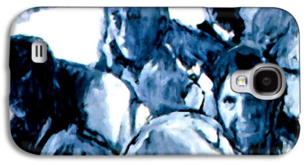 Discrimination Paintings Galaxy S4 Cases -  1961 Freedom Riders Galaxy S4 Case by Lanjee Chee