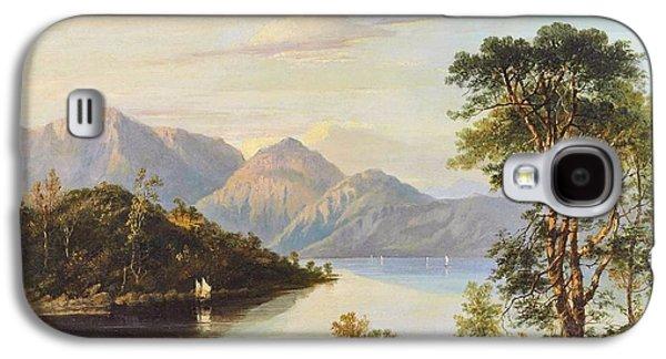 A Highland Loch Landscape Galaxy S4 Case by MotionAge Designs