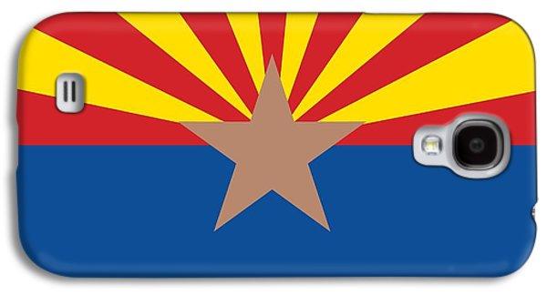 Arizona State Flag Galaxy S4 Case by American School