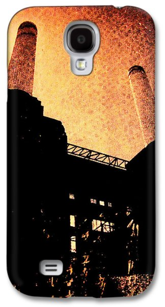 Screen Print Galaxy S4 Cases -  Battersea power station Galaxy S4 Case by David Studwell