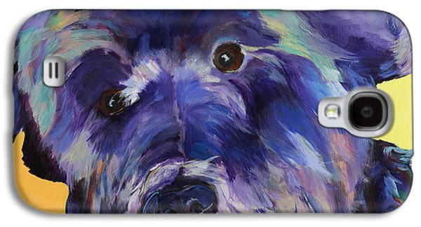 Black Dog Galaxy S4 Cases -  Beau Galaxy S4 Case by Pat Saunders-White