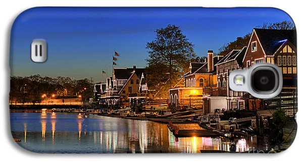Boathouse Row  Galaxy S4 Case by John Greim