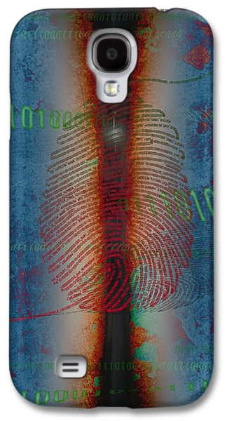 """""""digital Abstract"""" Galaxy S4 Cases -  Dig1ts Galaxy S4 Case by Francois Domain"""