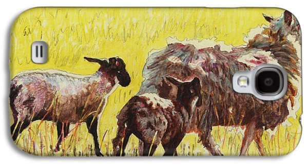 Pasture Scenes Galaxy S4 Cases -  Following Galaxy S4 Case by Helen White