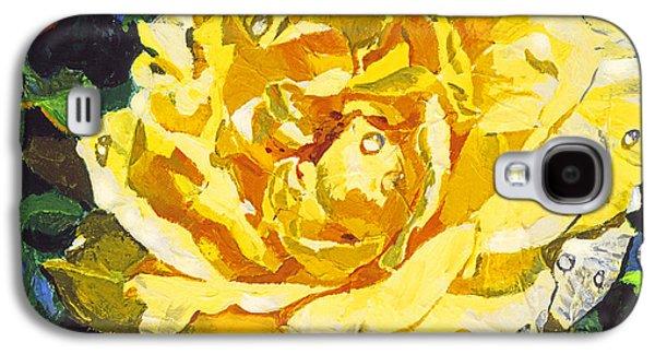 Plein Air Galaxy S4 Cases -  Golden Rain Galaxy S4 Case by David Lloyd Glover