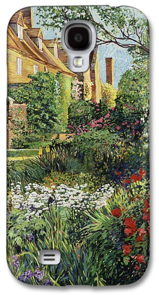 Gardenscapes Galaxy S4 Cases -  Impressions Of Sissinghurst Galaxy S4 Case by David Lloyd Glover